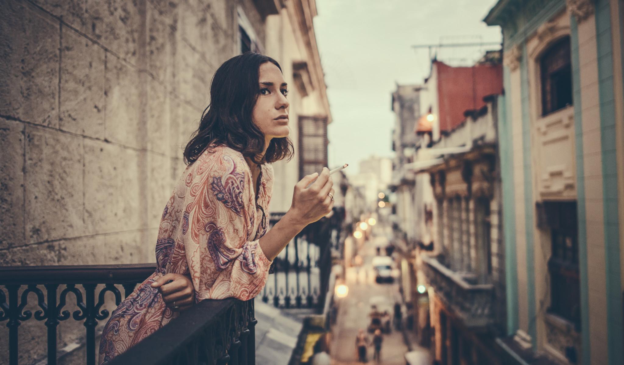 Havana Cuba Commercial Portrait of Valentina