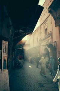 Morocco, Medina Marrakech by Luca Zizioli