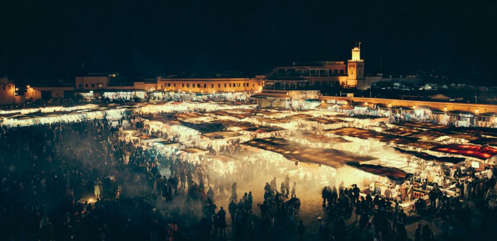 Jemaa El Fna - Marrakech - Luca Zizioli Freelance Project