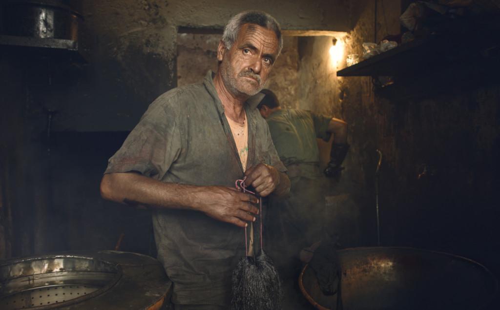 Marrakech - Portrait in the Souk By Luca Zizioli-