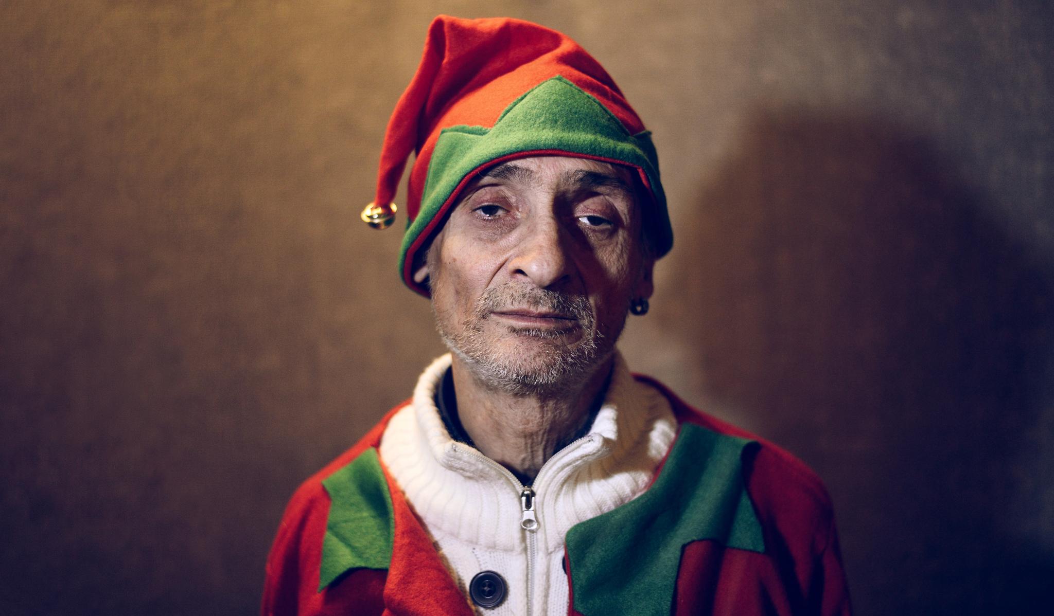 Santa Claus Portrait by Luca Zizioli