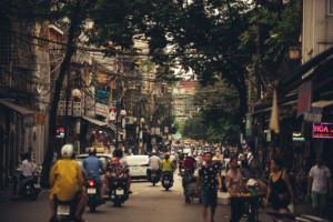 Traffic in Hanoi, Vietnam - Street -Luca Zizioli