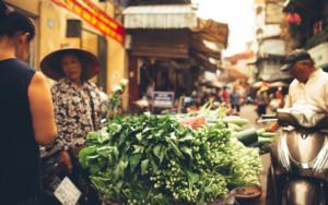 Hanoi Old city Hanoi Street Market -Luca Zizioli